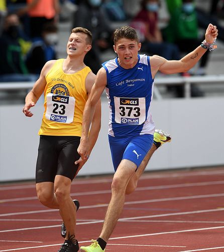 Hessen-Power an der Ostsee! Zwei Titel und fünf weitere Medaillen am Finaltag der deutschen Jugend-Meisterschaften in Rostock. Hawa Jalloh über 100 Meter Hürden nicht zu bremsen - Oliver Koletzko holt Weitsprung-Gold an seinem 18. Geburtstag.