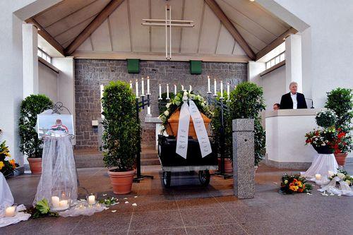 Hansjörg Holzamer in Heppenheim beerdigt