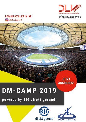 Erlebe die Leichtathletik DM 2019 Live in Berlin, zusammen mit deinen Freunden im DM-CAMP 2019